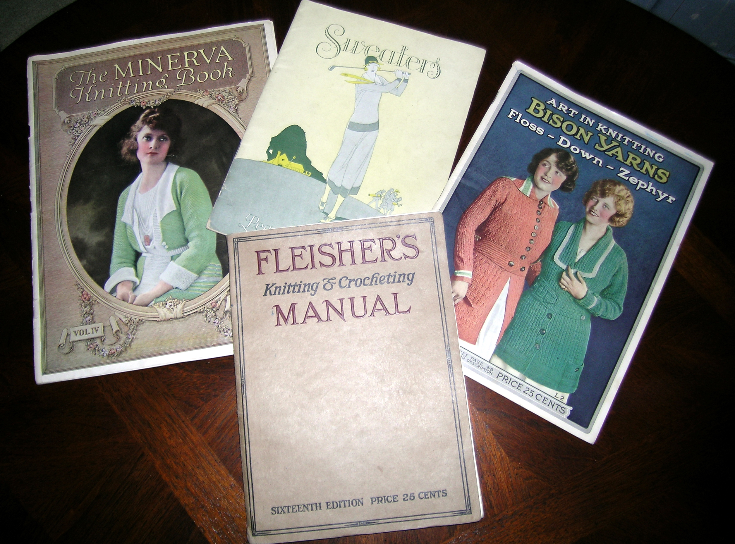 Old Knitting Pattern Books : Vintage Knitting Books Whole Body Health